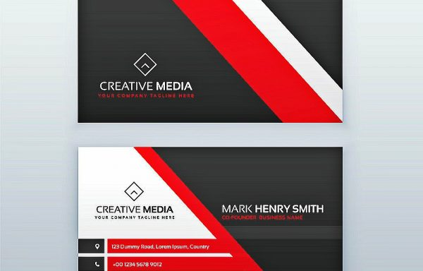 Standard Business Cards Double Sided