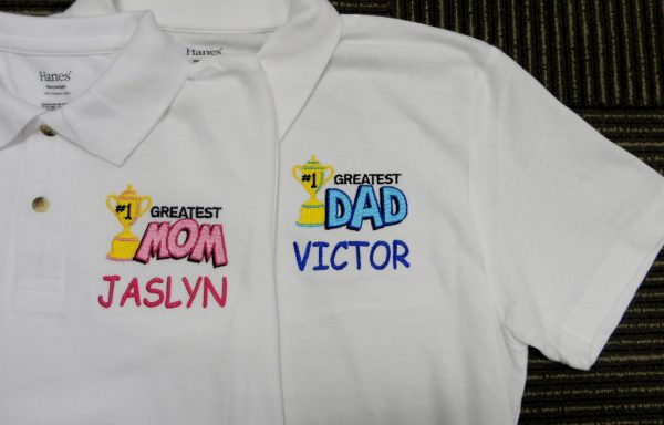 Customized TShirt and Polo